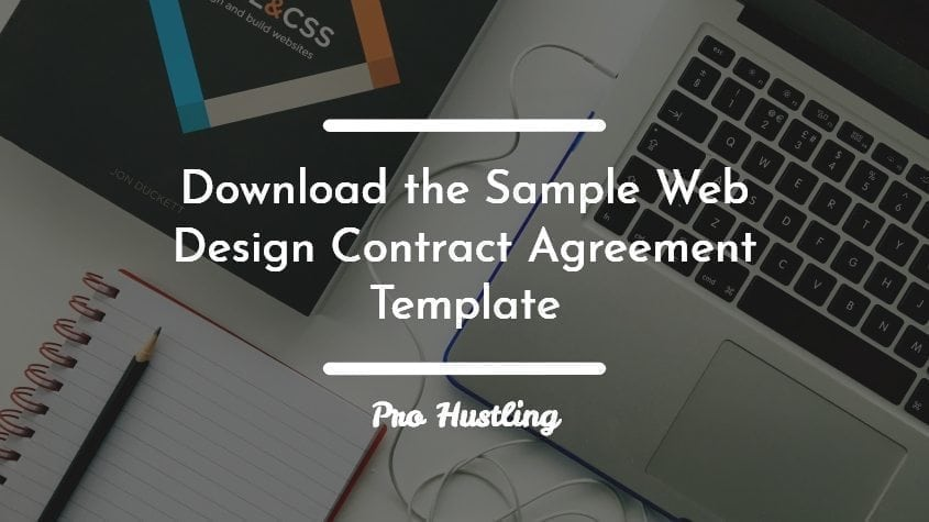 Download the Sample Web Design Contract Agreement