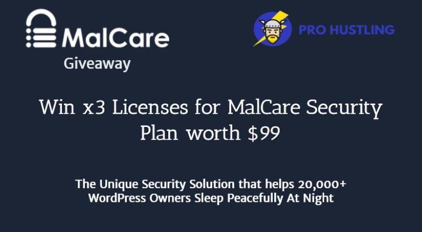 MalCare Giveaway