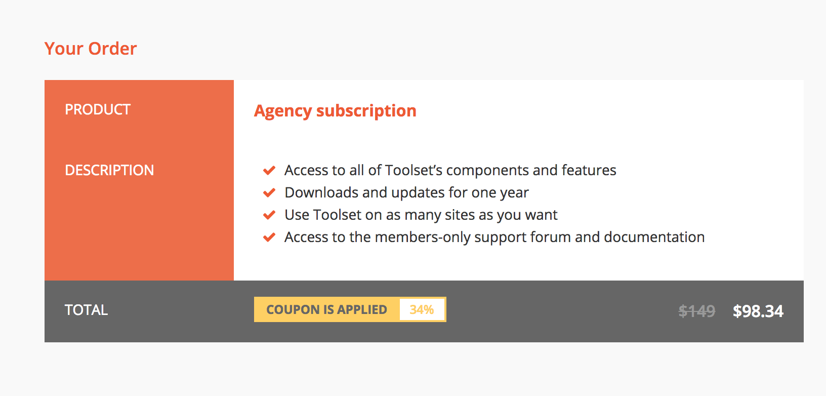 Toolset team offer our Hus-lings a special discount deal for their popular Agency Unlimited sites ($149 value) plan.