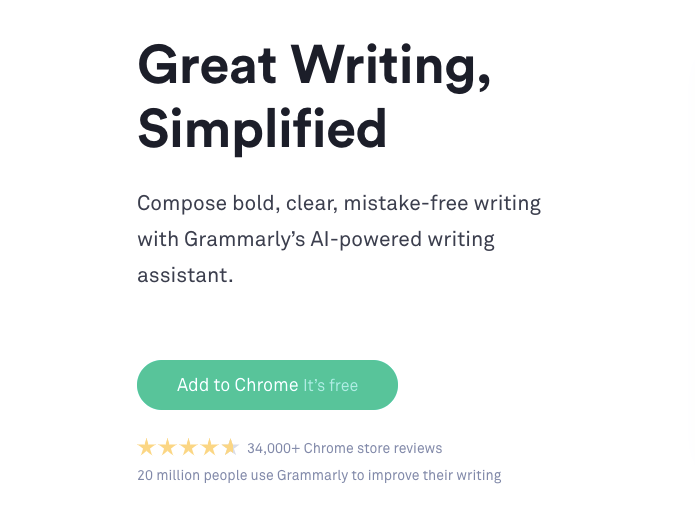 Grammarly Free Writing Assistant