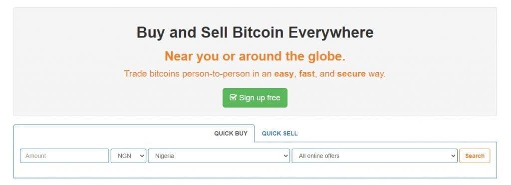 localbitcoins.com website